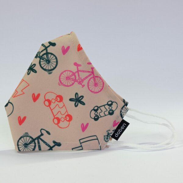 mascarilla bicicleta – tra bicis